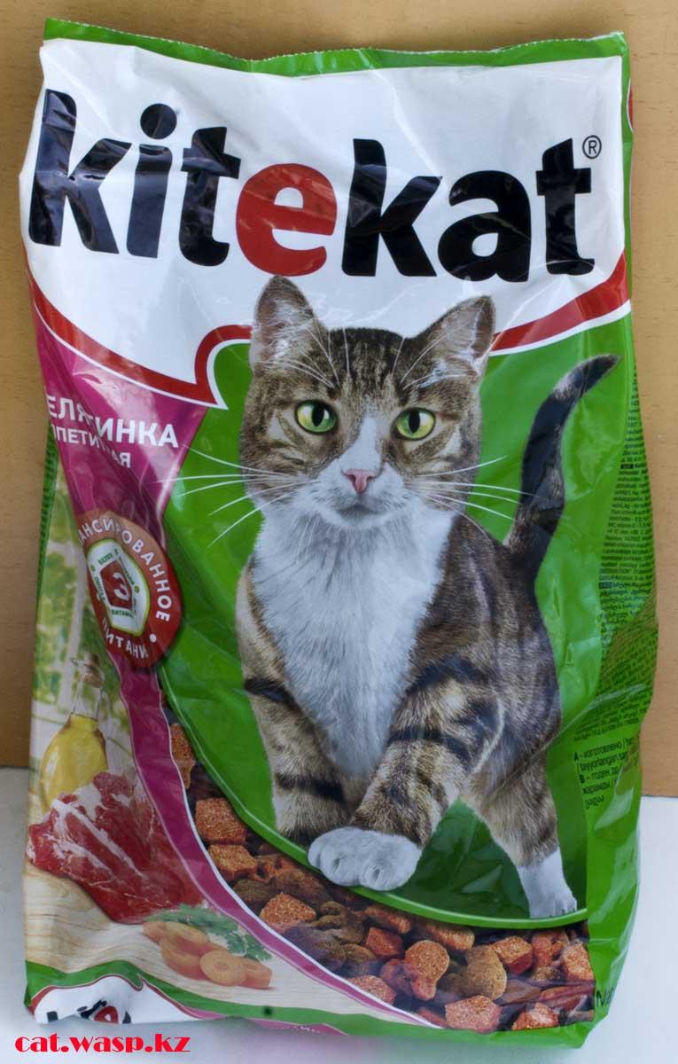 Kitekat Телятинка аппетитная - обзор и отзыв на сухой корм