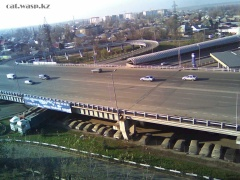 Алматы, 2010 год - развязки... панорама
